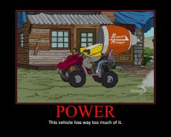 Power Motivational Poster by QuantumInnovator