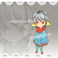 // Adoptable 003 // open by tamaneko-i-b
