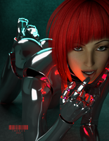 Gynoid 0x0C by TweezeTyne