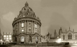 The Radcliffe Camera by Entangled-Minds