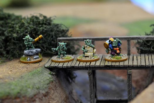 Orcling Explorers by WarmongerMiniatures