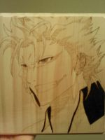 Grimmjow wood burning by CopperMoon