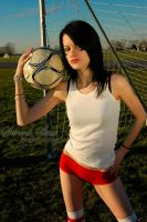 Soccer Girl by OfficialSerenaStar