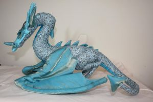 OOAK Wyvern Dragon Poseable Soft Sculpture by DragonForge311088