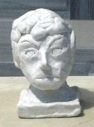 My First Bust Sculpture by roanalcorano