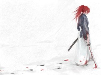 Kenshin by janey-jane