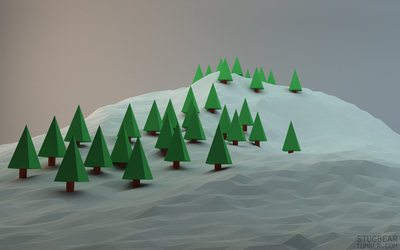 Low poly by Gelbaxa