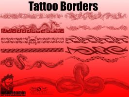 Tattoo Borders by indodreamin