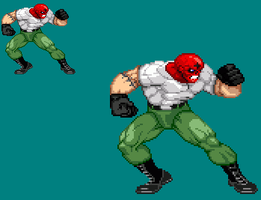 Sprite Stuff: Ultimate Red Skull by SXGodzilla