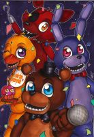 Five Nights at Freddy's poster [1] by Forunth