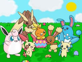 A Pokemon Easter