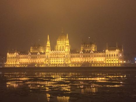 Parliament at night by WhoAreYou1978