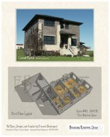 House #401 Prarie Style Home by Built4ever