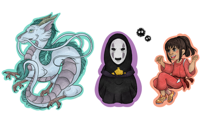 Spirited Away by ChaoticallyWicked