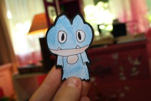 Munchlax the....paperchild? by thatravenclawchick