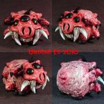 Rot Spider Pig Piggy Bank by Undead-Art