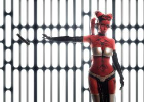 Star Wars Legacy - Darth Talon cosplay by Disharmonica