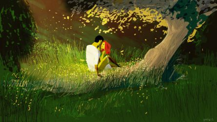 The no food picnic by PascalCampion