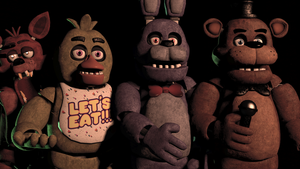 (SFM)Five Nights at Freddy's Anniversary by SpringBonnieNotTrap