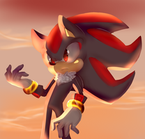 Shadow The Hedgehog~ by Yumibun