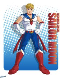 Male Sailor Moon by FallenMessiahX