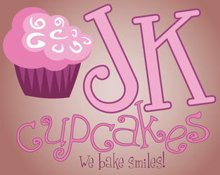 JK Cupcakes Logo 2 by turtlegirlman