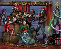 Bloodlust Christmas 2009 by BloodlustComics
