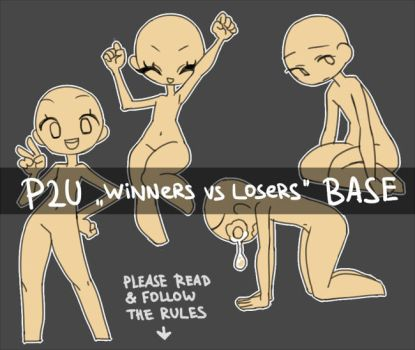 P2U base: Winners vs Losers by nextlvl-adopts