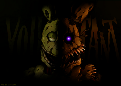 Nightmare Springtrap by Tomycase