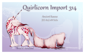 Quirlicorn Custom Import 314 by Astralseed