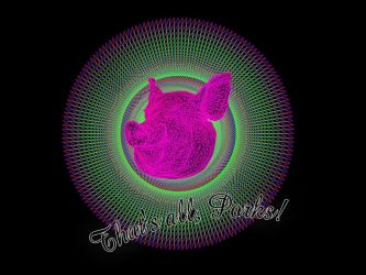 Laser Pork by jodroboxes