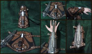 Assassin's Creed Themed Bracer of Light by RawringCrafts