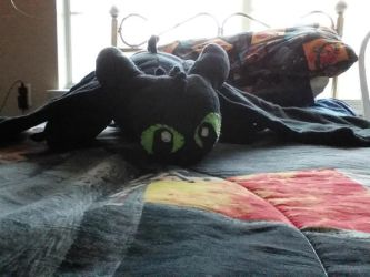 Toothless Plush Finished by Coraline12345