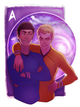 Space Bros by noodlerface