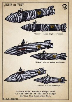Lowlands War ships by wingsofwrath