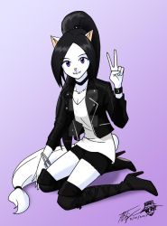Metal Kitty Melody by ArthurT2015