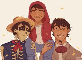 Hector(s) and Miguelito by Smirking-Sir
