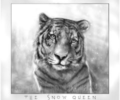 Snowqueen by howlinghorse