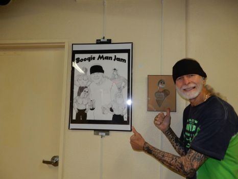 Jimmy Valiant and the Boogie Woogie Men by MikeMarsArt