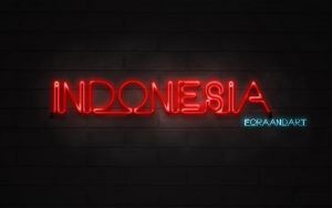 Indonesia by aforaandart