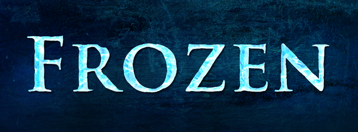 Frozen Text Style by MegaBleachy