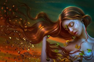 Lepidopterophobia - 5th DAILY DEVIATION! by BrietOlga