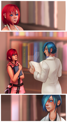 KH Worlds Connected [Reunion] by noxernia
