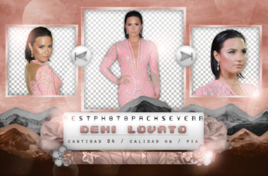 Pack Png 1235 - Demi Lovato by southsidepngs