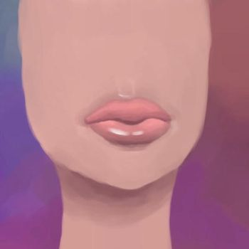 Lips by GraphiteForest
