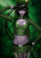 Giselle - The Green Officer by midnitemind