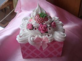 Little Pink Deco Box by Lustfulwish