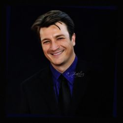 Nathan Fillion - Monte Carlo Digital Art. by GhostLinz