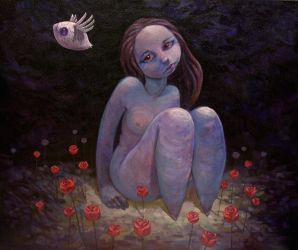 Eve Fights Off the Shadows... by jasinski