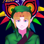 Link from Majora's Mask by fob-love-panic